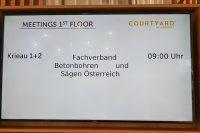23. Betonbohrertag in Wien